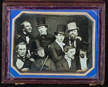 Group portrait of eight men_Daguerreotype inv UBM-BY-05592 © University Museum Bergen
